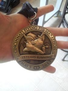 I run marathons, lumpy hips and all.