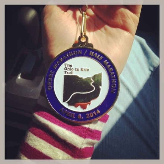 Shiny medal for me!