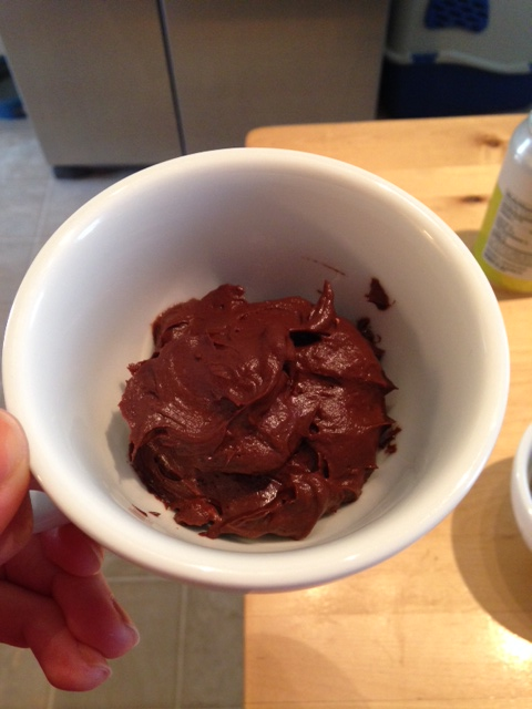 After: Chocolately goodness