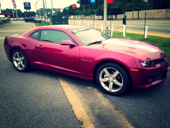 Pink Camaro, be mine.