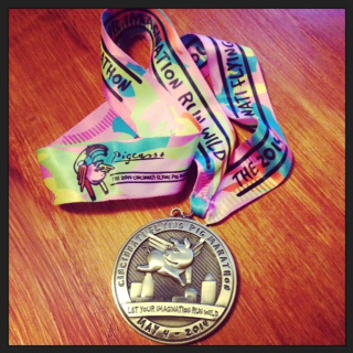 2014 Flying Pig Marathon medal