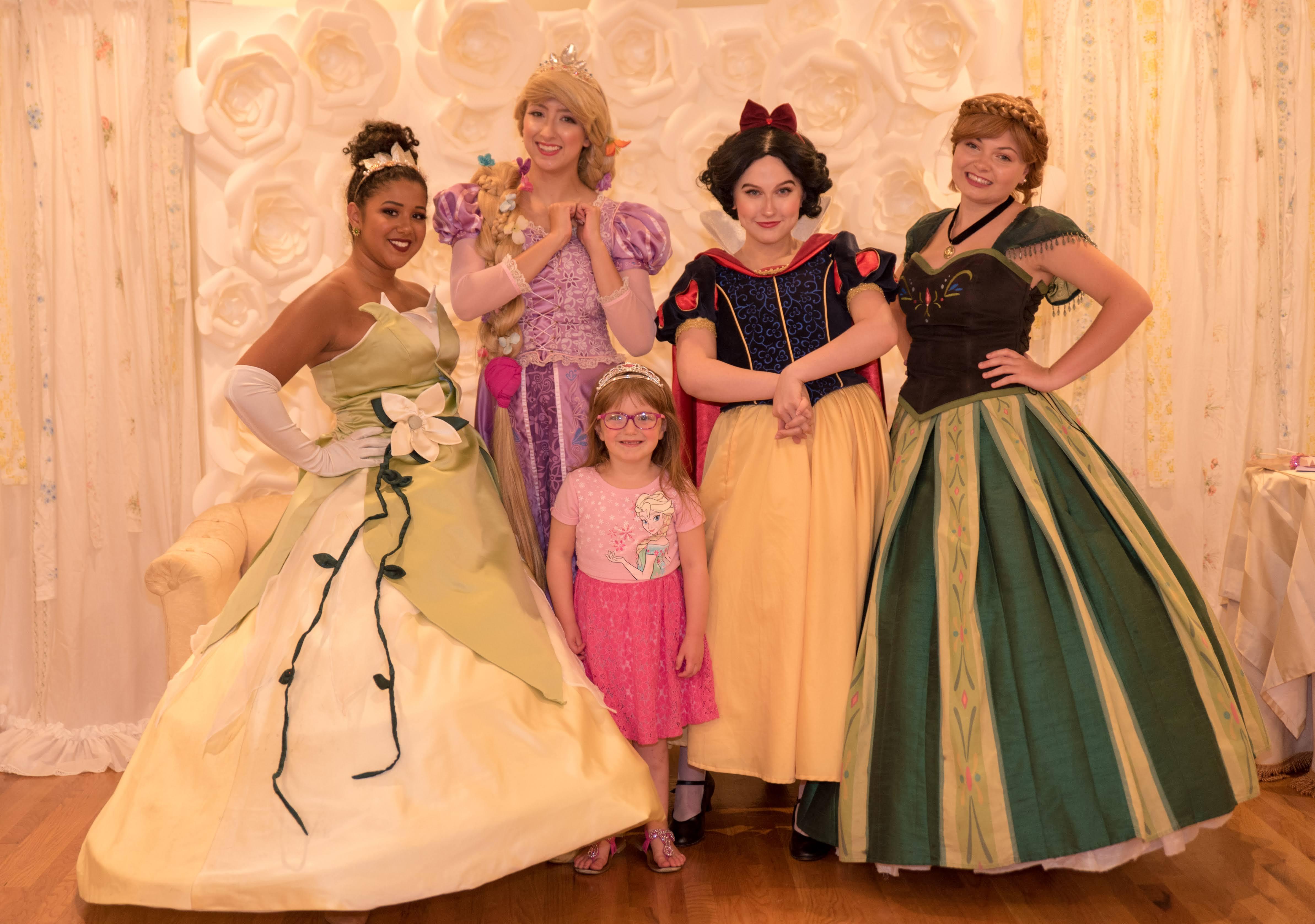 princess tea party Baum opera house Miamisburg Ohio